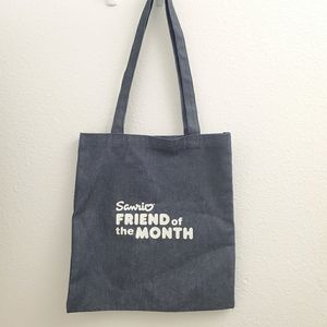 Sanrio Friend of the Month Denim Tote Bag ACC16